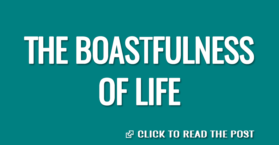 THE BOATFULNESS OF LIFE