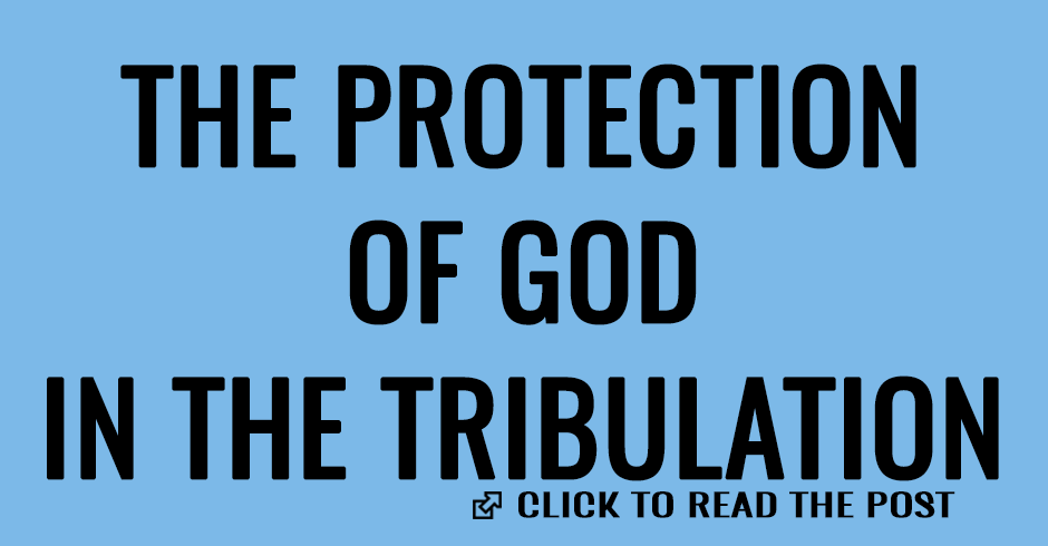 THE PROTECTION OF GOD IN THE TRIBULATION
