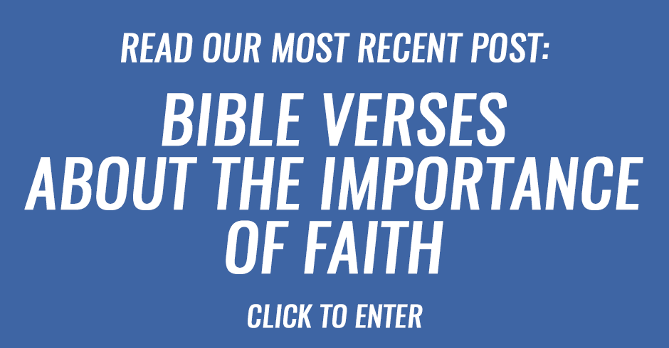 Bible verses that tell us about the importance of faith