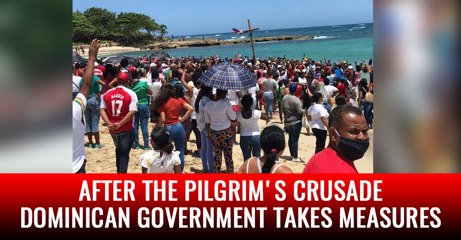 After the Pilgrim's Crusade, the Dominican government takes measures in Puerto Plata