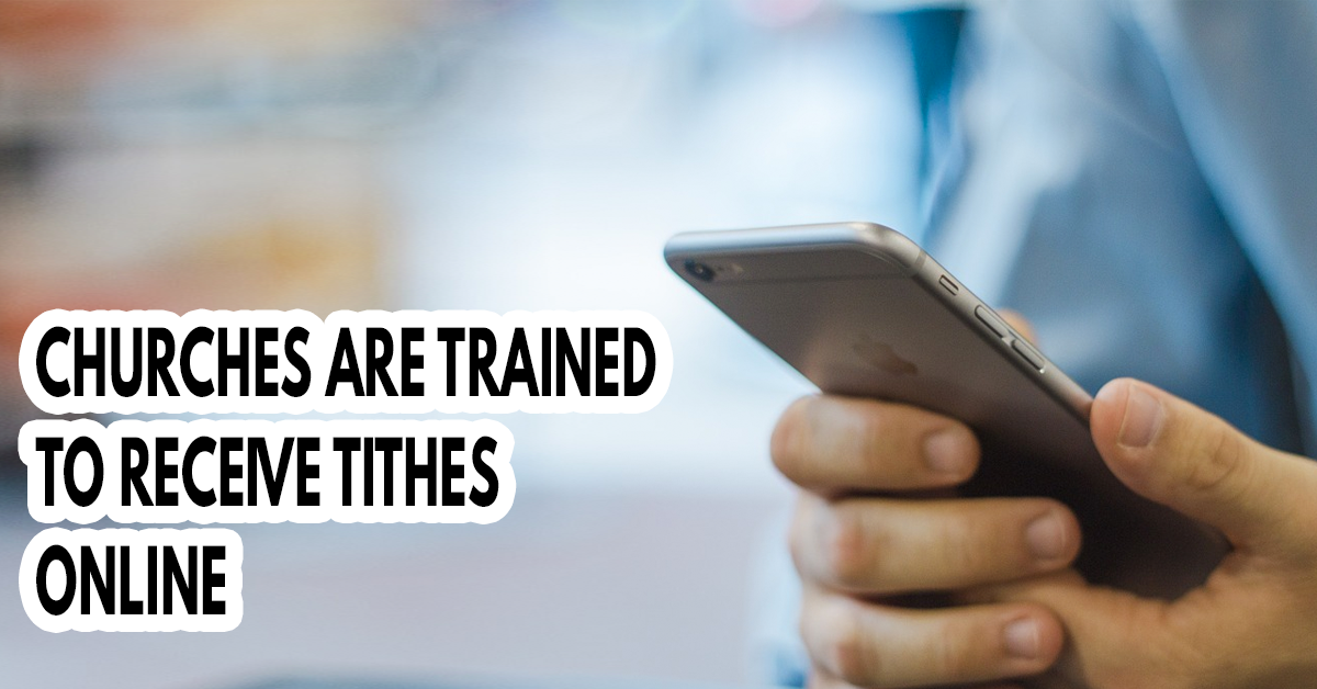 Churches are trained to receive tithes online